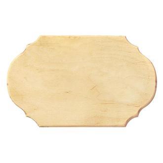 Заготовка для панно прямоугольная 12х20 см фанера