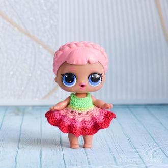 Сукні для ляльки ЛОЛ (LOL Surprise)