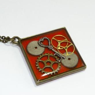 Кулон Ключ в стиле Стимпанк Steampunk