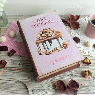 """Книга-шкатулка """"CAKE SECRETS"""""""