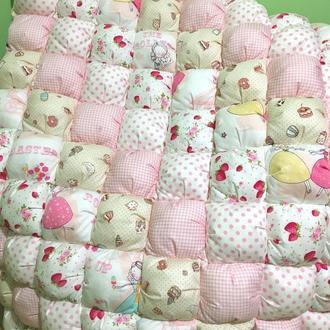 Зефирное Бомбон одеяло для девочки