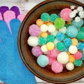 Набор сахарных скрабов +пилинговая перчатка