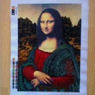 """Картина """"Мона Ліза"""", чеський бісер"""