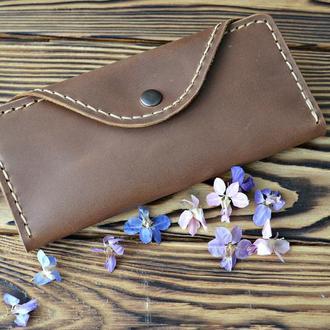 Кожаный кошелек,портмоне