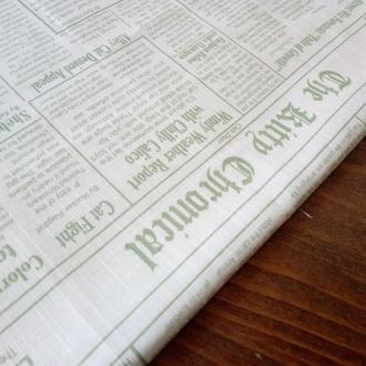 Ткань газета для рукоделия, хлопок для печворка