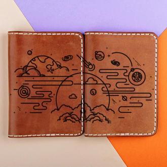 """Парные обложки на паспорта """"Космос"""". Подарок любимой/любимому"""