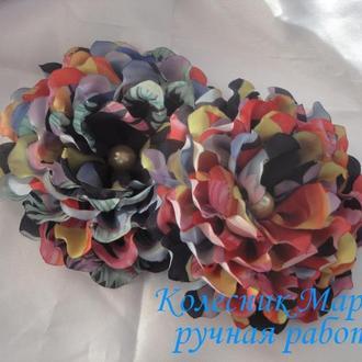 Разноцветный цветочек (основа на выбор), 1шт