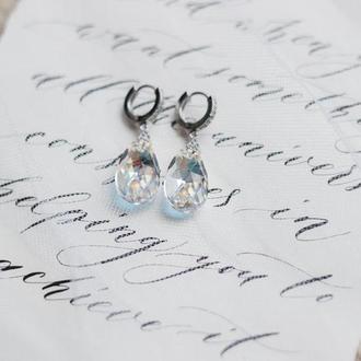 Свадебные серьги