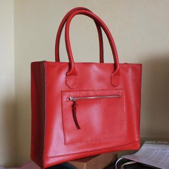 Яркая сумка из натуральной кожи GUCCI (Италия)