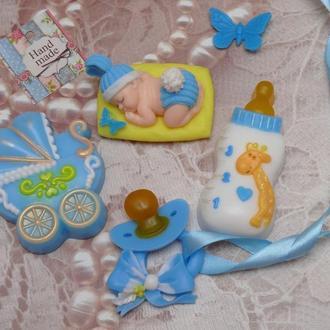 Набор мыла на рождение малыша, крестины, годик малышу