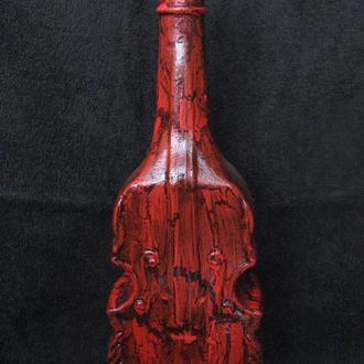 Пляшка декорована