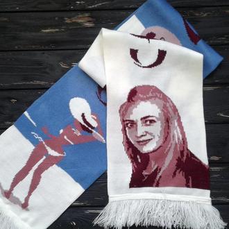 """Подарочный шарф """"СКОРО ЛЕТО"""""""