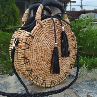 Плетеная сумка.