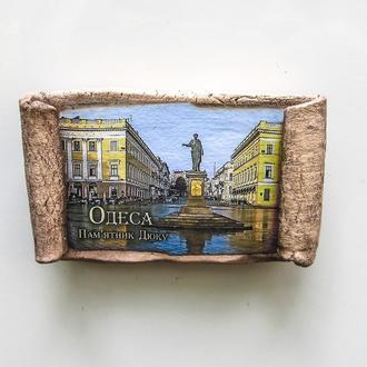 """Магнітик-сувій """"Одеса.Пам'ятник Дюку"""""""