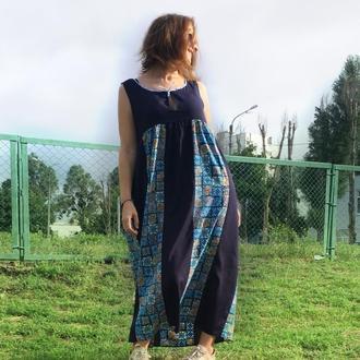 Бохо платье лёгкое на любую фигуру
