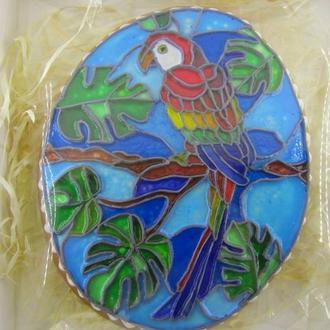 пряник медово-імбирний ручний роспис у вітражному стилі