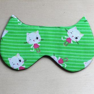 маска ушки котики девочки