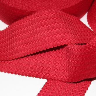Резинка декоративная 50мм (27м) красная