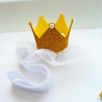 Корона из фоамирана (на годик)
