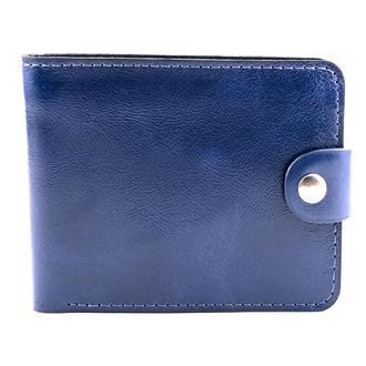 Кожаное портмоне П3-03 (синее)