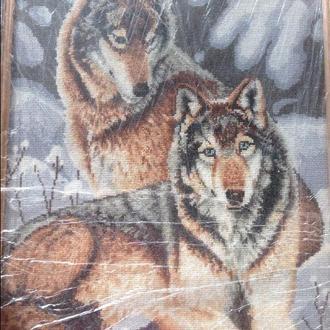 Картина ручной работы вышитая крестиком