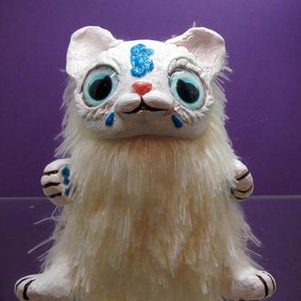 Игрушка ручной работы , Кошечка