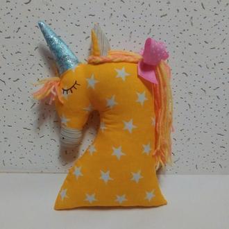 Единорог мини-подушка игрушка