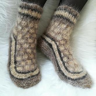 Носки из собачьей шерсти 37-38 теплые шерстяные собачья шерсть