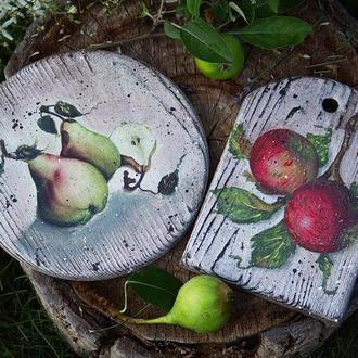 набор досок Груши-яблоки