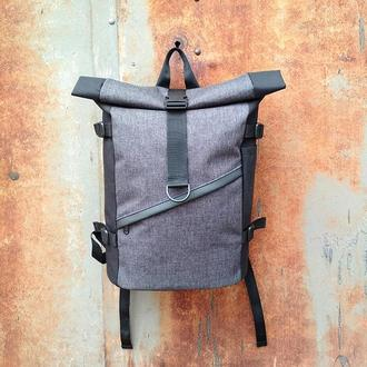 Городской рюкзак Kona Hiker Black/Grey Melange
