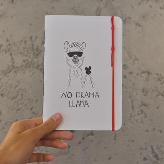 Скетчбук, блокнот, тетрадь с черными листами, в точку