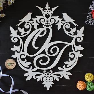 Монограмма / Инициалы на свадьбу / Семейный герб