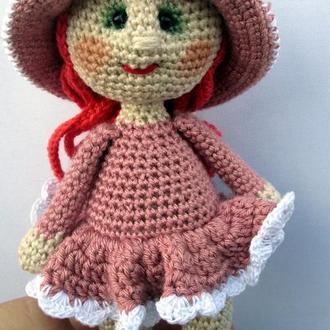 Куколка ковбойка в платье.