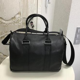 Компактная кожаная дорожная сумка.Шкіряна дорожня сумка. Спортивная сумка. Дорожная сумка.