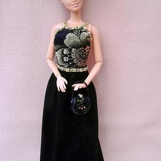 """Вечірнє плаття для ляльки барбі """"Афіна"""""""