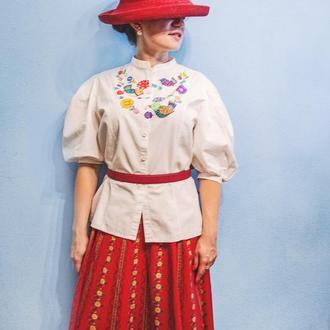 Блуза ручной росписи