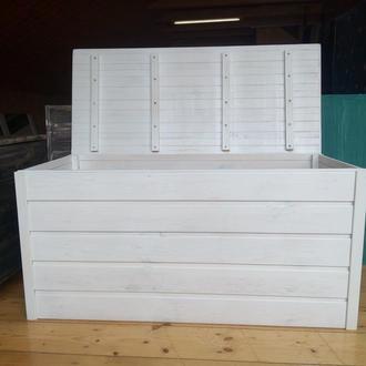 Ящик-комод универсальный белый (из дерева)