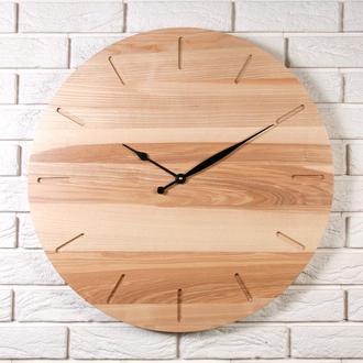 Деревянные настенные часы Dabo Classic Ø60 - Natural