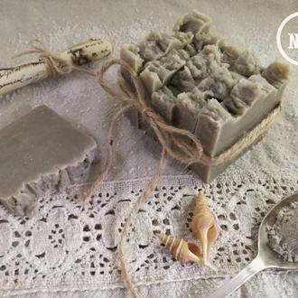 Натуральне крафтове мило З Грязью Мертвого Моря