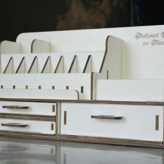 Органайзер для косметики, комодик, шкатулка, косметичка, hand made