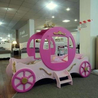 Детская кровать Карета Золушка