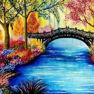 """Картина """"Misterious bridge"""""""