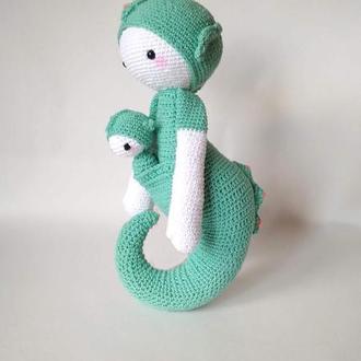 Морской конек Sepp lalylala кукла вязаная игрушка