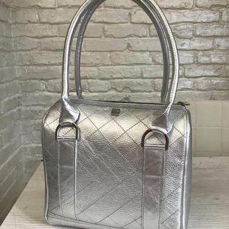 Кожаная женская сумка. Шкіряна жіноча сумка.