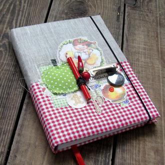 Кулинарный блокнот ручной работы. Купить оригинальный подарок