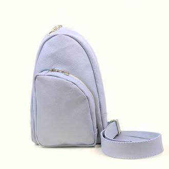 Женский кожаный рюкзак на одной лямке