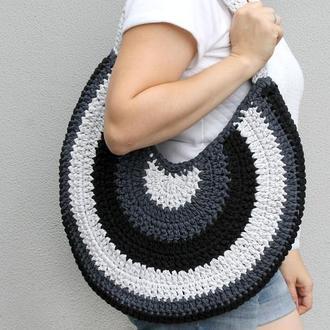 Круглая сумка