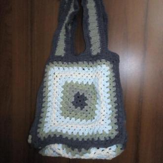 Маленькая сумочка-корзинка