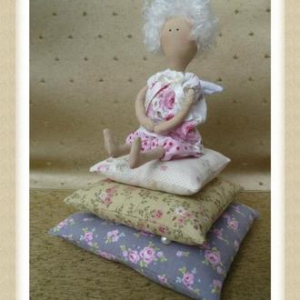 Кукла тильда принцесса на горошине.