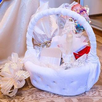 Корзина для свадьбы, крещения, помолвки
